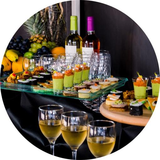 Cocktail dînatoire à Rennes